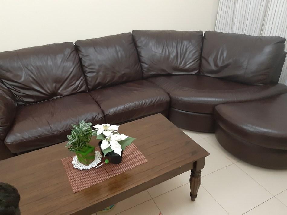 Leather Sofa Set Second Hand Dubai