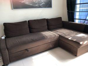 Ikea Sofa Bed Storage L Shaped