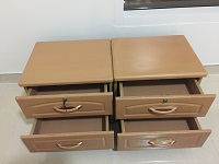 2- Chest drawers