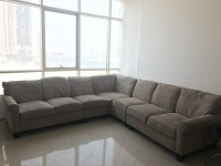 L-Shaped 7 seater Corner Couch