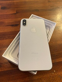 "Apple iPhone X 256GB ""Factory Unlocked"