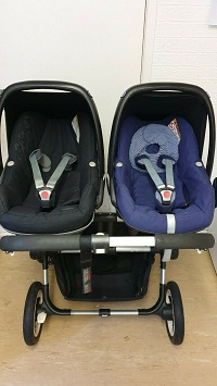 BUGABOO-DONKEY-TWIN-SETS-WITH-MAXI-COSI-PEBBLE-CAR-SEATS-AND-EXTRAS8