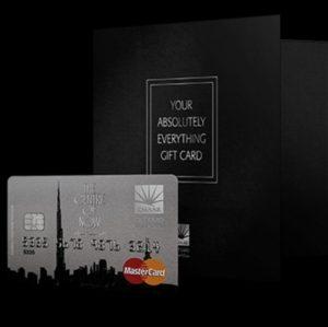 Emaar gift card worth 850.