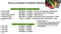 Etisalat Special Offers For Home Internet