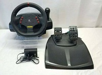 Logitech-MOMO-Racing-Force-Feedback-Steering-Wheel-Pedals-Shifter-PC-USB-Wire