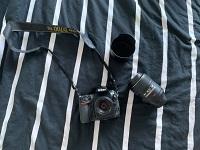 Nikon D700 with 2 lenses