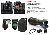 Nikon D7200 with accessories