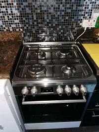 Perfect condition Whirlpool Gas Stove and Electric Oven