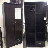 selling brand new double door cabinets