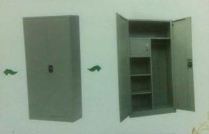 selling brand new double door steel cabinets