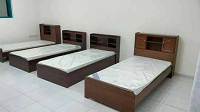 selling brand new single beds with mattress