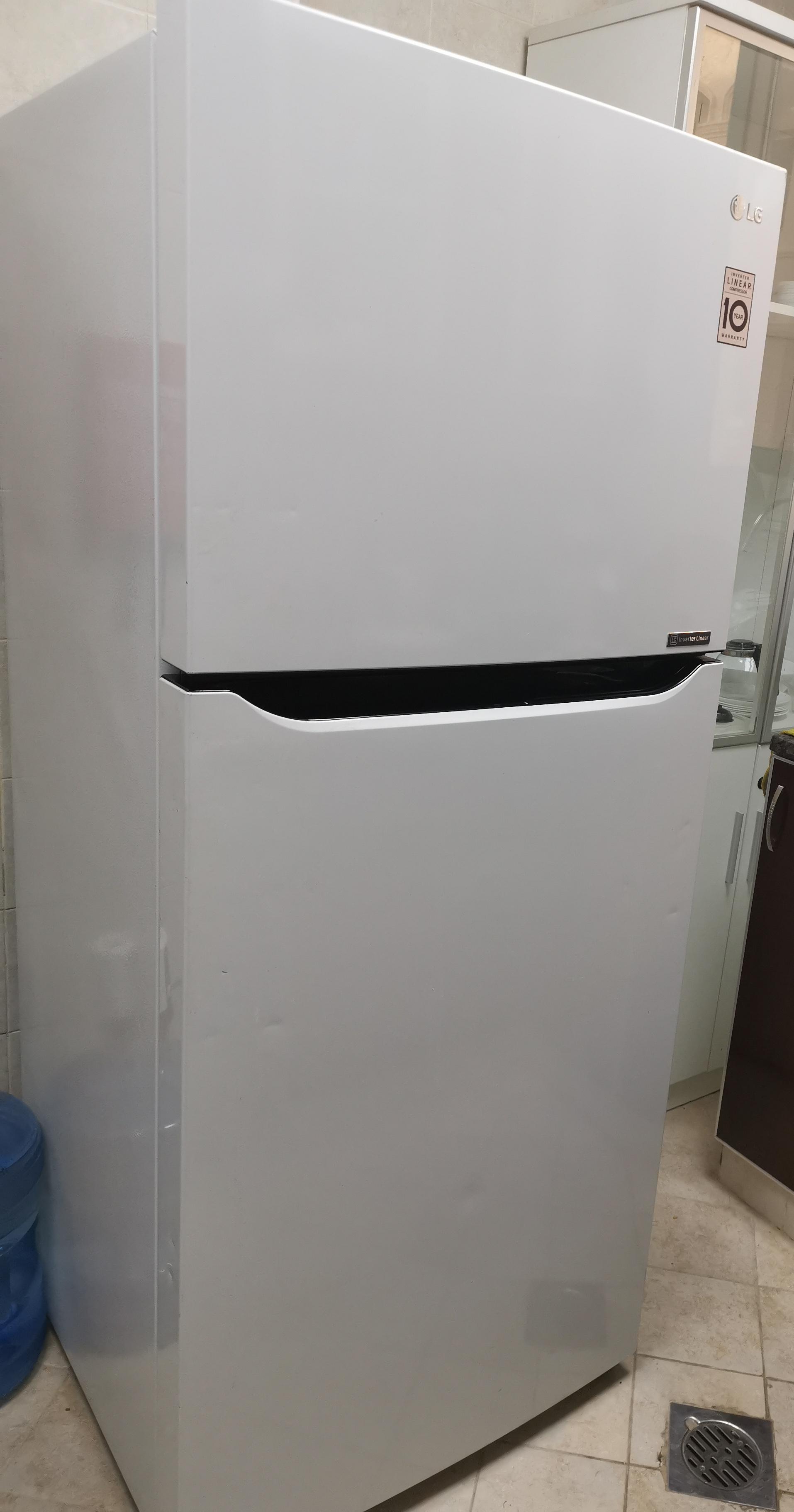 LG inverter linear compressor refrigerator Net Capacity: 438