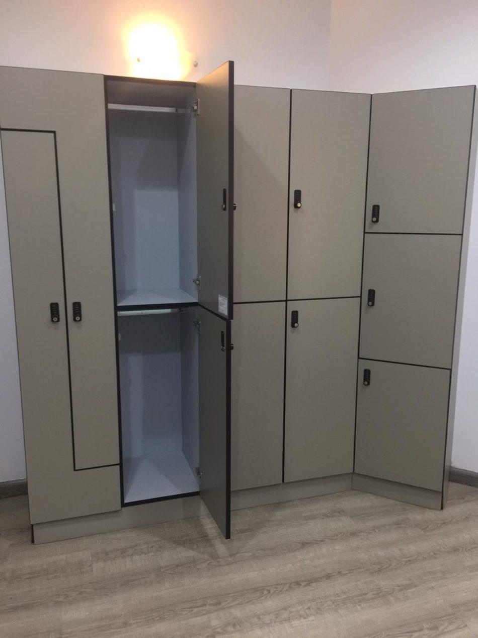 High Pressure Laminated (HPL) Lockers